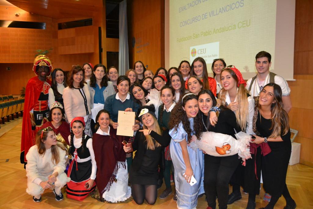 1ºPremio Concurso de Villancicos. -Grupo La Abuelita Maria-.