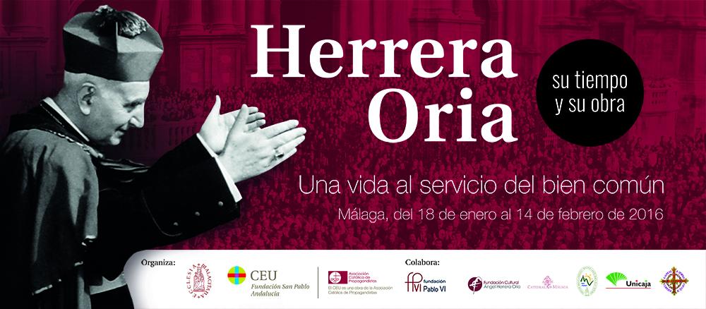 Exposición Herrera Oria, Málaga 18 de enero