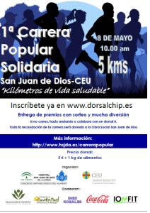 cartel carrera 8 mayo