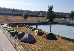 summercamp acampada