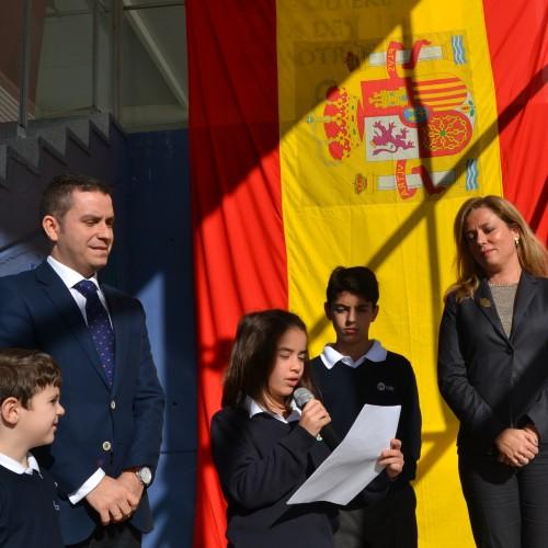 El Colegio CEU Sevilla conmemora el Día de la Constitución