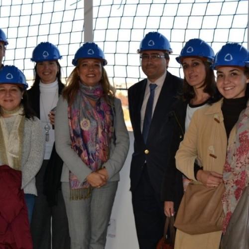 La AMPA del Colegio CEU Sevilla satisfecha con el ritmo de las obras del nuevo colegio