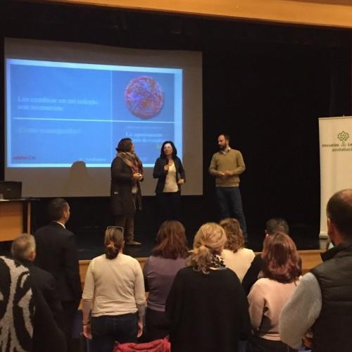 El equipo directivo del Colegio CEU Sevilla participa en la Jornada de Escuelas Católicas de Andalucía