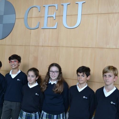 Alumnos de Primaria del Colegio CEU Sevilla participan en el Concurso de Oratoria 'Eloquens'