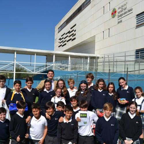 Alumnos del Colegio CEU Sevilla, empresarios por un día