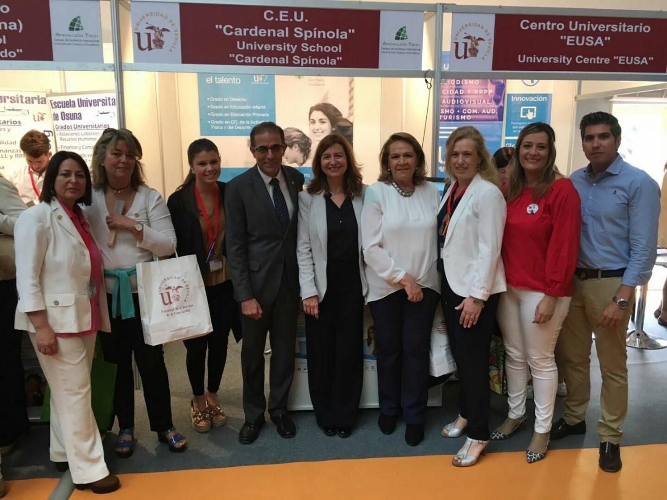 Ceu Andalucía En El Xxii Salón Del Estudiante De La Universidad De