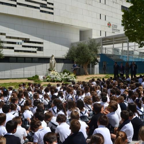 Mayo, mes de la Virgen María en el Colegio CEU Sevilla