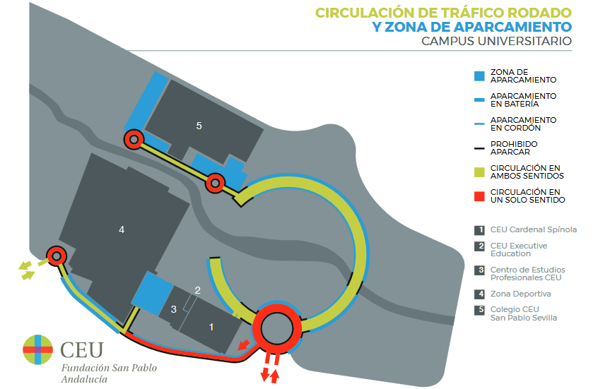 plano aparcamientos
