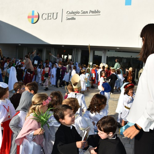 Todos los Santos en el Colegio CEU Sevilla