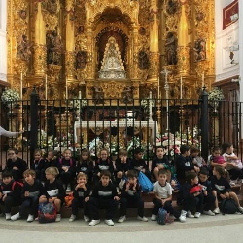 Alumnos del Colegio CEU Sevilla visitan la Aldea del Rocío y el Parque Natural de Doňana
