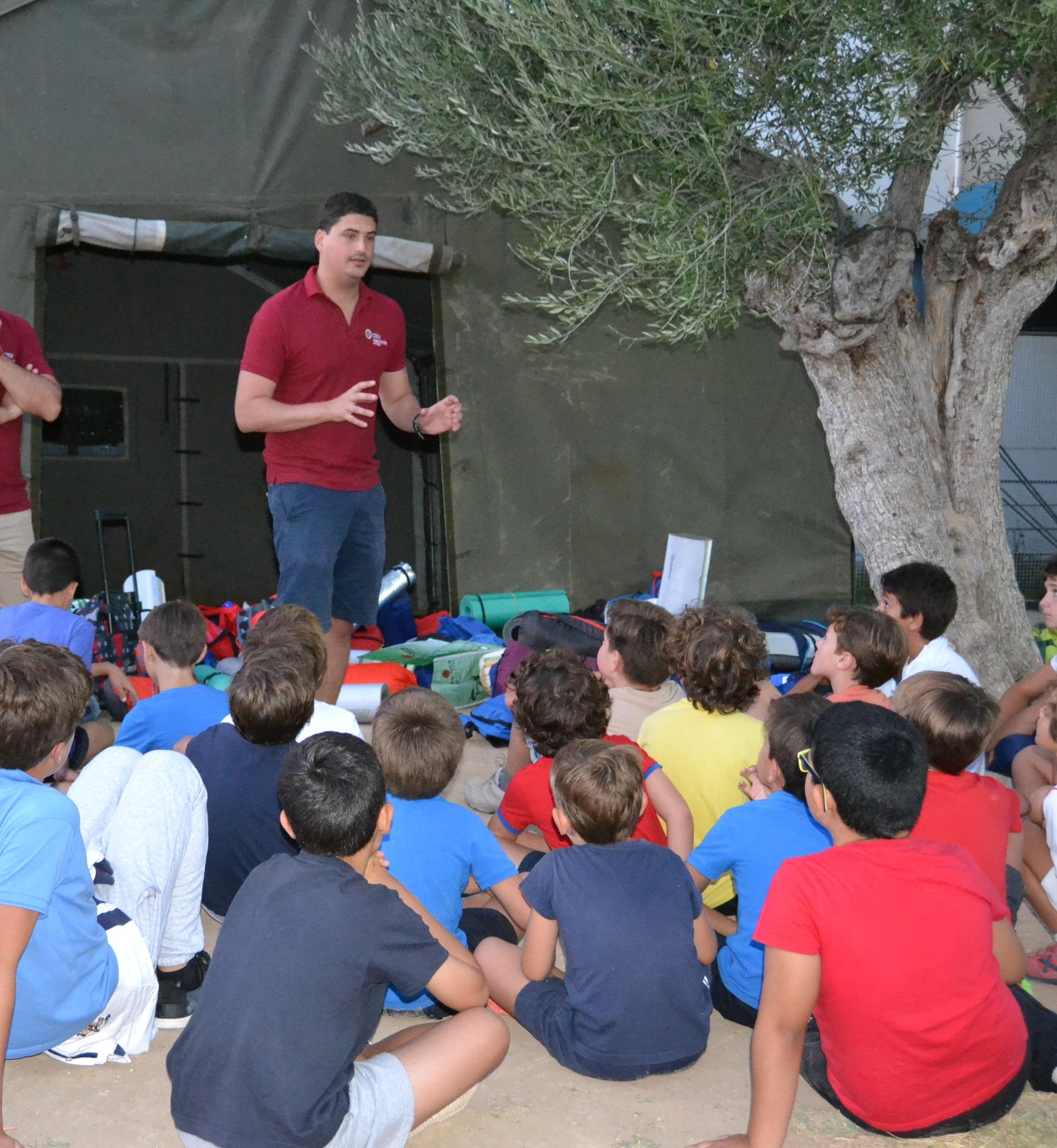 summer acampada