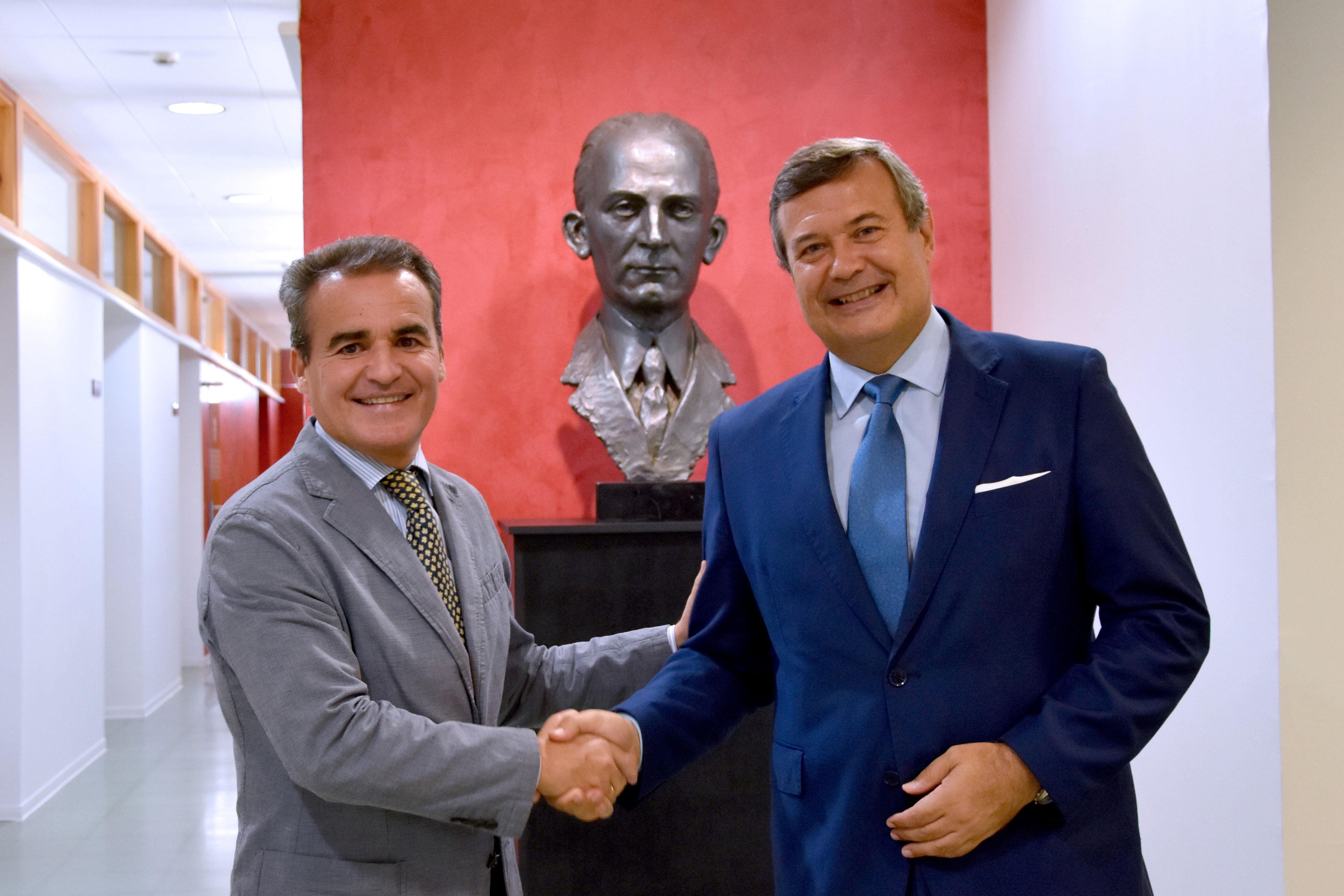 Rafael Herrador y Juan Carlos Hernandez Buades