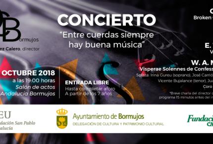 2018.10.05 Proximo concierto de la Orquesta de Cámara de Bormujos en CEU Andalucia