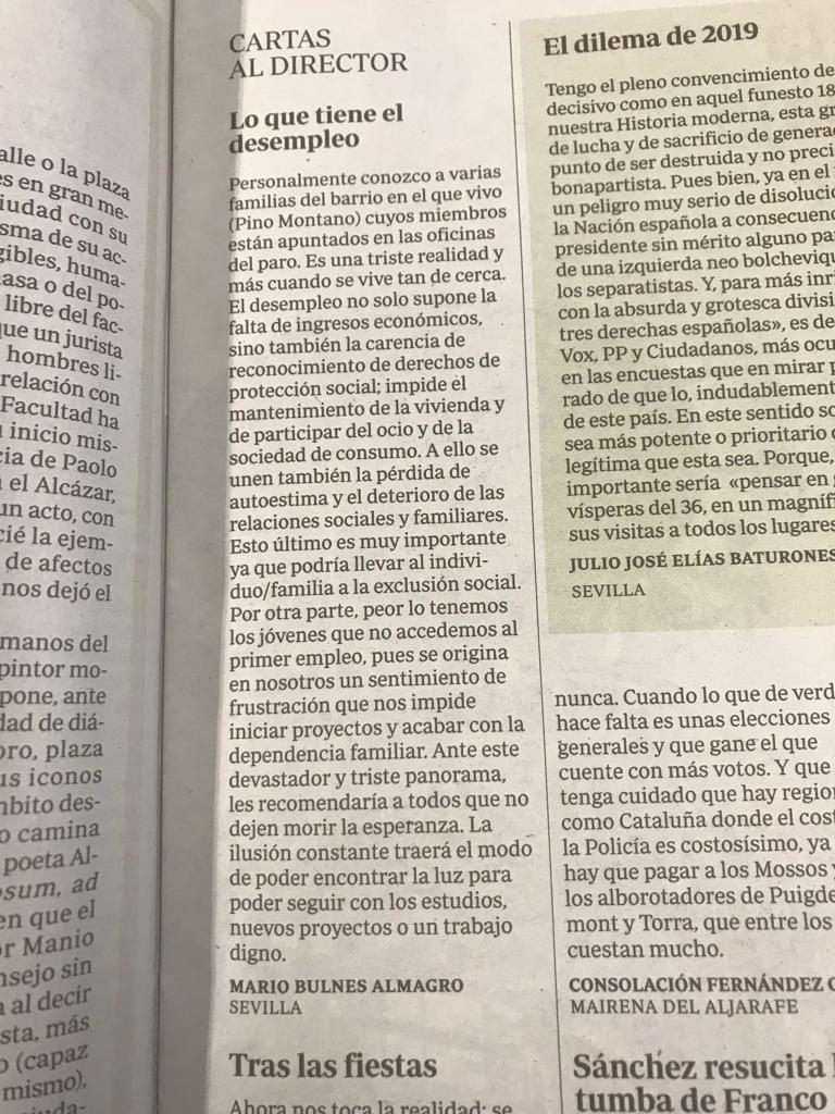 CARTAS DIRCTOR_ECONOMIA DERECHO_MARIO